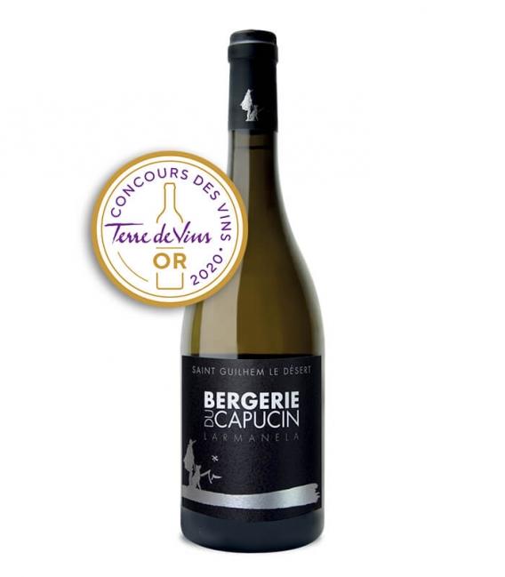 vin IGP Larmanela blanc 2019 - Bouteille 75 cl