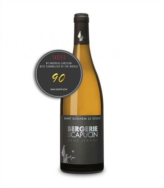 Vin blanc Dame Jeanne 2019 - Bouteille 75 cl