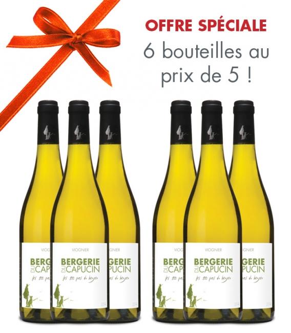 Les 100 Pas du Berger Viognier 2019 - Carton 6 bouteilles