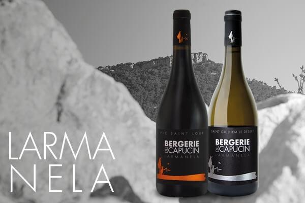 Larmanela, vins AOP Pic Saint Loup