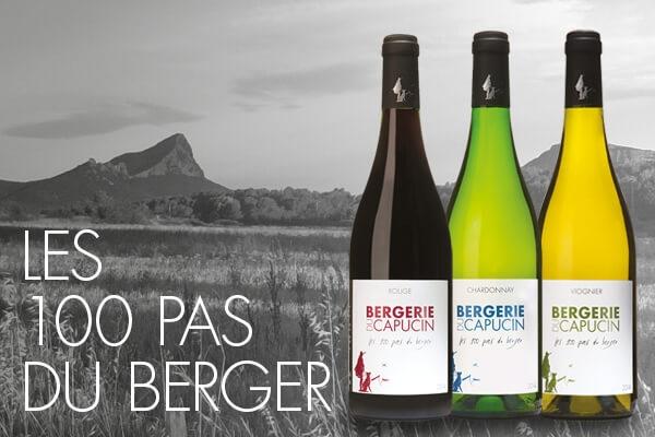 IGP Languedoc vins 100 pas du berger