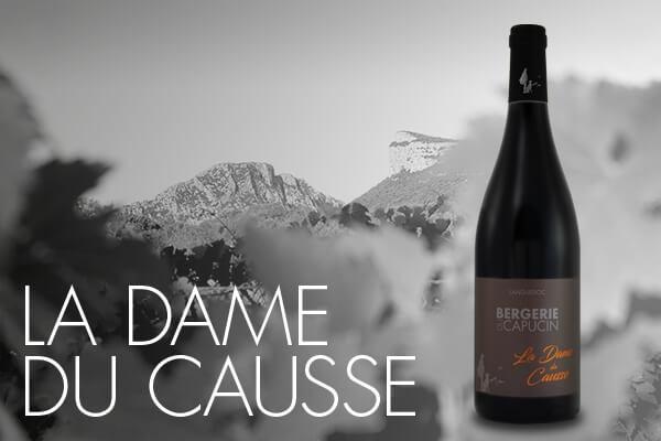AOC Languedoc vins la Dame du Causse