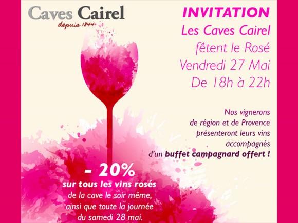 - 20 %, Fête du rosé le 27 et 28 mai 2106
