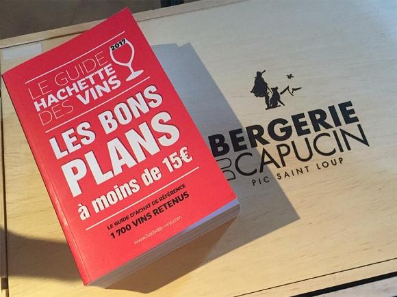 Guide Hachette 2017 - Dame Jeanne rosé 2015 sélectionnée !