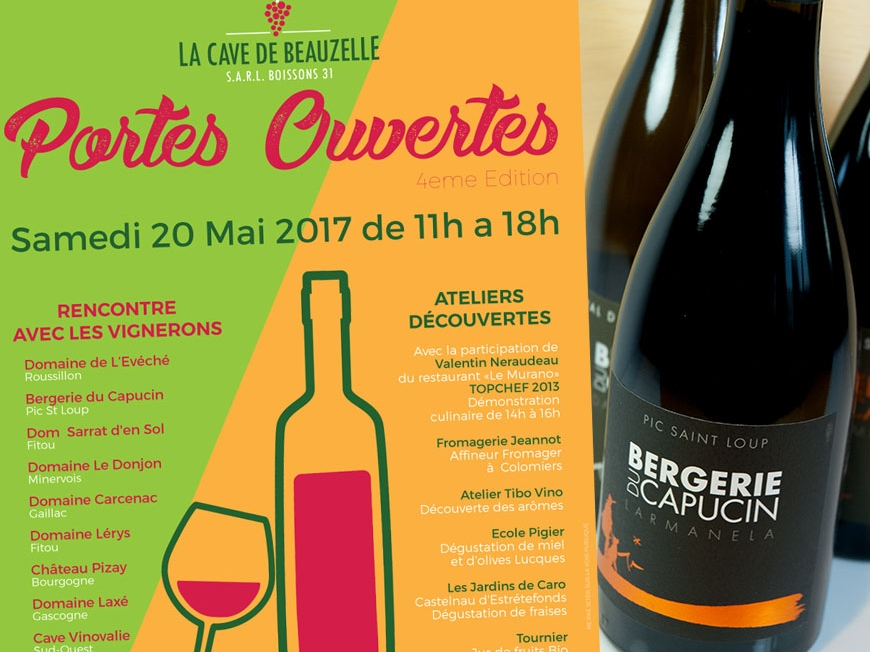 Samedi 20 mai 2017 - Cave de Beauzelle