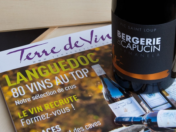 Larmanela 2015 sélectionné par Terre de Vins