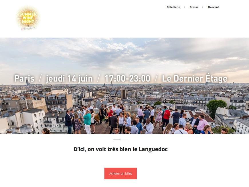 SUMMER WINE NIGHT jeudi 14 juin 2018 - Paris