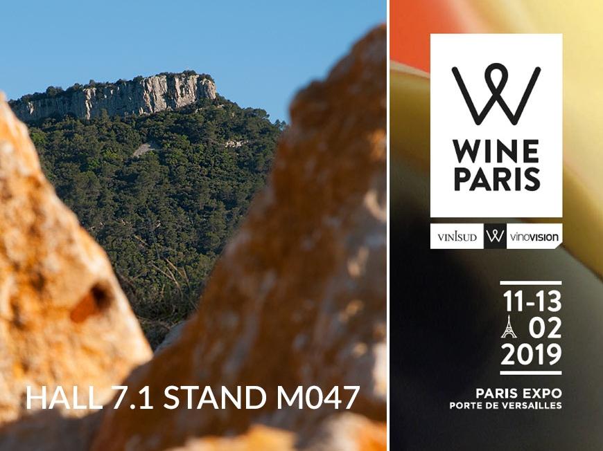 Salon WINE PARIS les 11, 12 et 13 février 2019